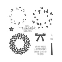 Wondrous Wreath Photopolymer Stamp Set