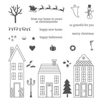 Holiday Home Photopolymer Stamp Set