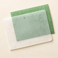 Filigree Frame Textured Impressions Embossing Folders