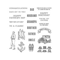 Guy Greetings Photopolymer Stamp Set