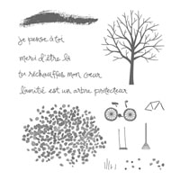 Arbre Protecteur Photopolymer Stamp Set (French)
