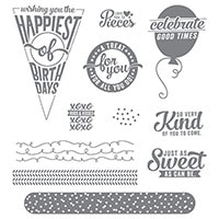Sweet Stack Photopolymer Stamp Set