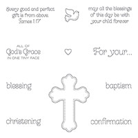 All God's Grace Clear-Mount Stamp Set