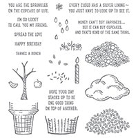 Sprinkles Of Life Photopolymer Stamp Set