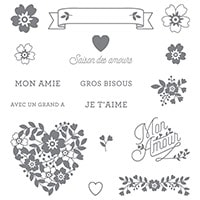 Éclosion D'amour Photopolymer Stamp Set (French)