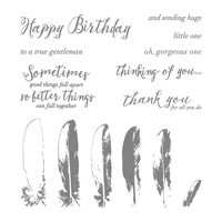 Feather Together Photopolymer Stamp Set