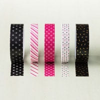Pop Of Pink Designer Washi Tape