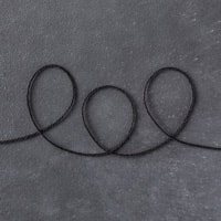 Basic Black Solid Baker's Twine