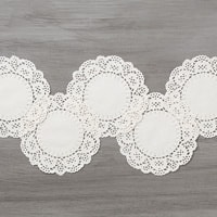 Delicate White Doilies