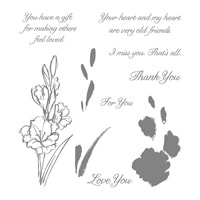 Gift Of Love Photopolymer Stamp Set