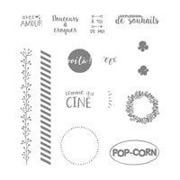 Explosion De Saveur Photopolymer Stamp Set (French)