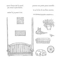 Petite Pause Photopolymer Stamp Set (French)