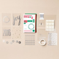 Project Life Hello December 2016 Accessory Pack