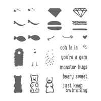 Just Keep Swimming Photopolymer Stamp Set