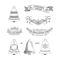 Cloches De Circonstance Clear-Mount Stamp Set (French)