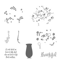Thankful Life Photopolymer Stamp Set
