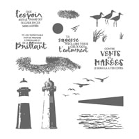 Marée Haute Photopolymer Stamp Set