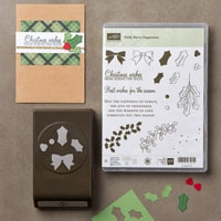 Holly Berry Happiness Photopolymer Bundle