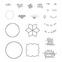 Eastern Beauty Photopolymer Stamp Set