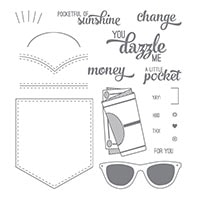Pocketful Of Sunshine Photopolymer Stamp Set