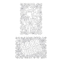 Good Vibes Wood-Mount Stamp Set