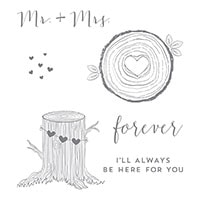 Always & Forever Clear-Mount Stamp Set