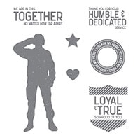 Loyal & True Clear-Mount Stamp Set