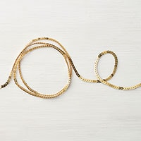 Gold Mini Sequin Trim