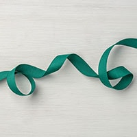 "Tranquil Tide 1/2"" Finely Woven Ribbon"