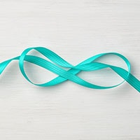"Bermuda Bay 3/8"" Stitched Satin Ribbon"