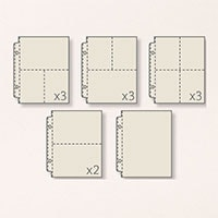 "Variety Pack 6"" X 8"" Photo Pocket Pages"