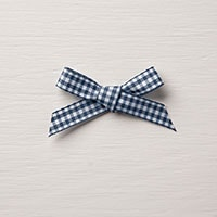 "Night Of Navy 1/2"" Gingham Ribbon"