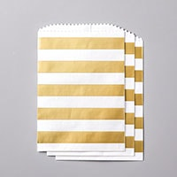 Striped Treat Bags