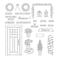Faites Comme Chez Vous Photopolymer Stamp Set (French)