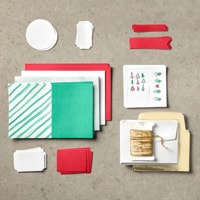 Watercolor Christmas Project Kit Stampin Up