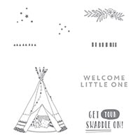 Little One Clear-Mount Stamp Set