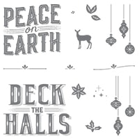 Carols Of Christmas Clear-Mount Stamp Set