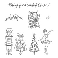Sugarplum Dreams Clear-Mount Stamp Set