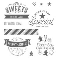 The Little Things Clear-Mount Stamp Set