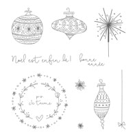 Saison De Fantaisie Clear-Mount Stamp Set (French)