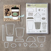 Café À Emporter Photopolymer Bundle (French)