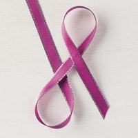 "Berry Burst 3/8"" (1 Cm) Metallic-Edge Ribbon"