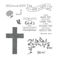 Hold On To Hope Clear-Mount Stamp Set