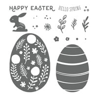 Hello Easter Photopolymer Stamp Set
