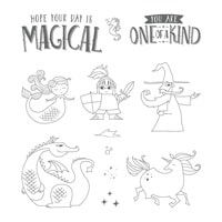 Magical Day Clear-Mount Stamp Set
