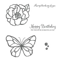 Beautiful Day Clear-Mount Stamp Set
