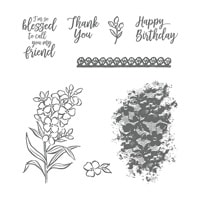 Southern Serenade Wood-Mount Stamp Set