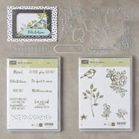 Palette De Pétales Clear-Mount Bundle (French)