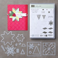 L'étoffe De Noël Photopolymer Bundle (French)