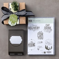 Merry Little Labels Clear-Mount Bundle